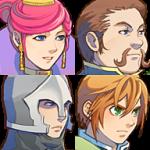 城の人々 1