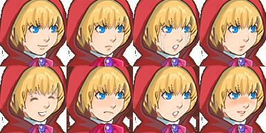 赤頭巾_顔