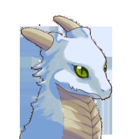 子ドラゴン青