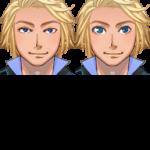 VXAceキャラクター生成用 正面顔グラフィックパーツ02(青年)
