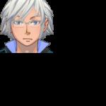 VXAceキャラクター生成用 正面顔グラフィックパーツ(インテリメガネ)