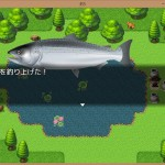 I made Fishing Game with RPG Maker MV.