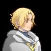 金髪白フード少年
